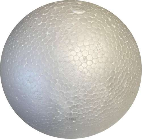 10cm polystyrene craft foam ball sphere