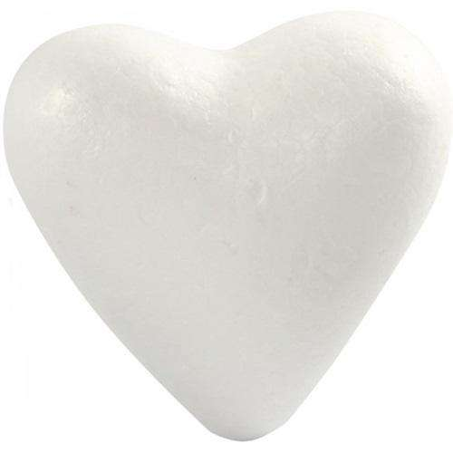 polystyrene heart shape craft foam florist