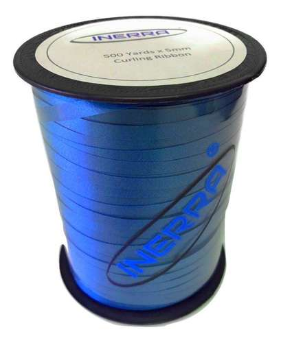 mid blue balloon string curling ribbon