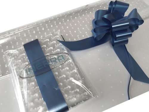 navy blue hamper wrapping kit