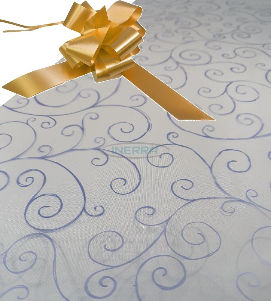 gold hamper wrapping kit cellophane wrap bow