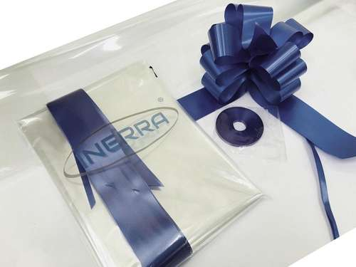 navy blue hamper wrap kit