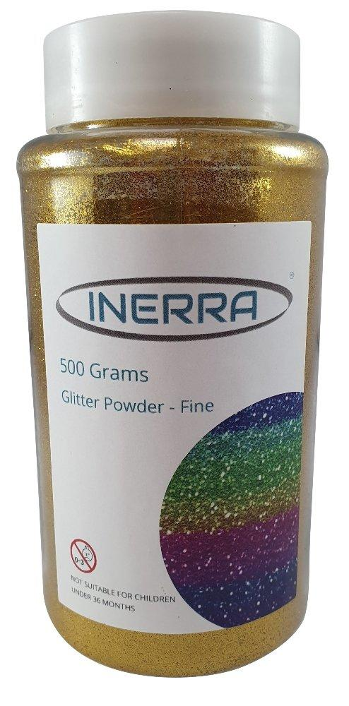 gold 500g christmas school glitter shaker tub