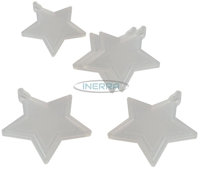 clear star balloon weights