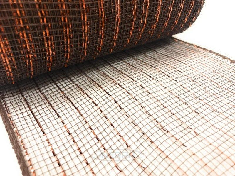 brown deco mesh