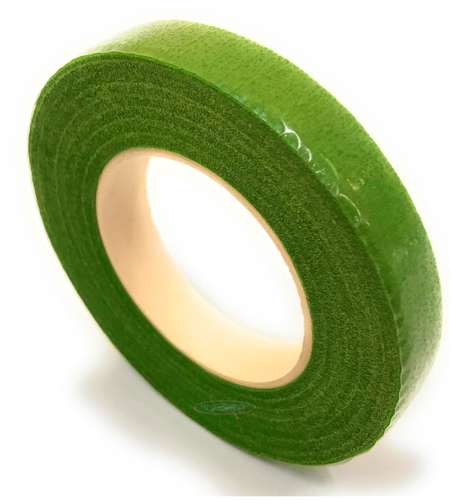 LIGHT GREEN FLORIST STEM TAPE
