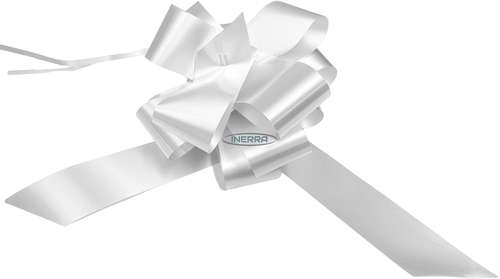 white wedding bows gift hamper