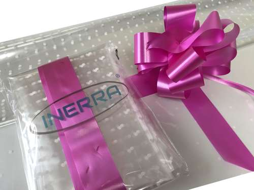 hamper wrapping kit gift basket christmas cellophane wrap and bow cerise