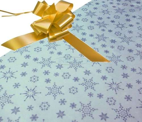 gold hamper wrapping kit cellophane bow christmas