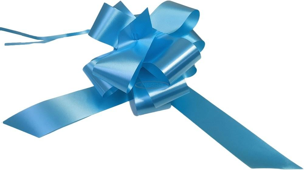 baby blue pull bows gift
