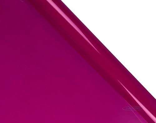 tinted cerise cellophane