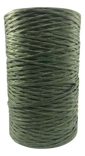paper coated bindwire green
