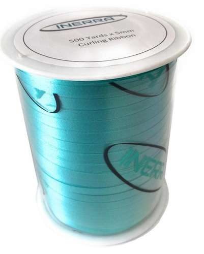 aqua balloon string curling ribbon