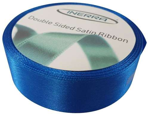 royal blue satin ribbon 25mm