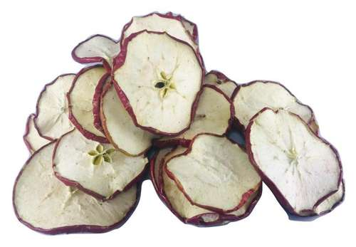 dried red apple slices fruit christmas