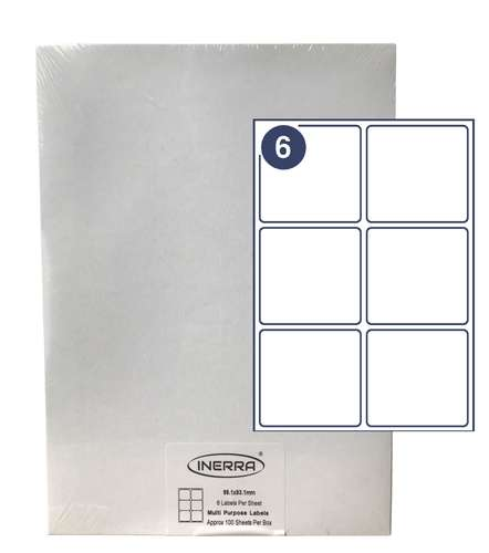 6 per blank labels sheet template