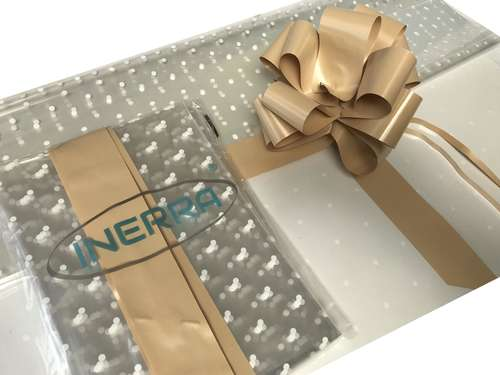 hamper wrapping kit gift basket christmas cellophane wrap and bow coffee