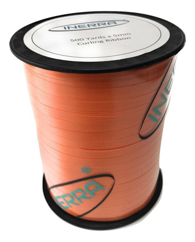 orange balloon string curling ribbon