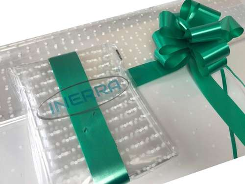 emerald green hamper wrapping kit