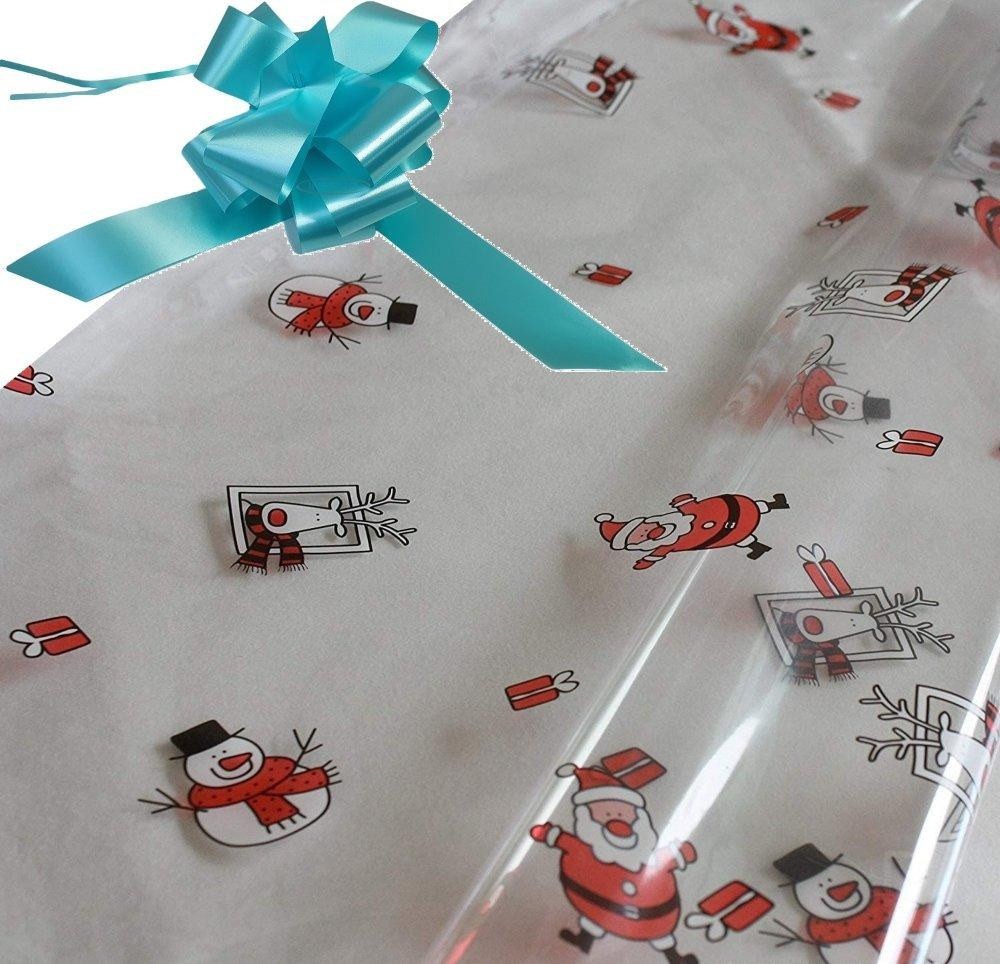 santa hamper wrapping kit