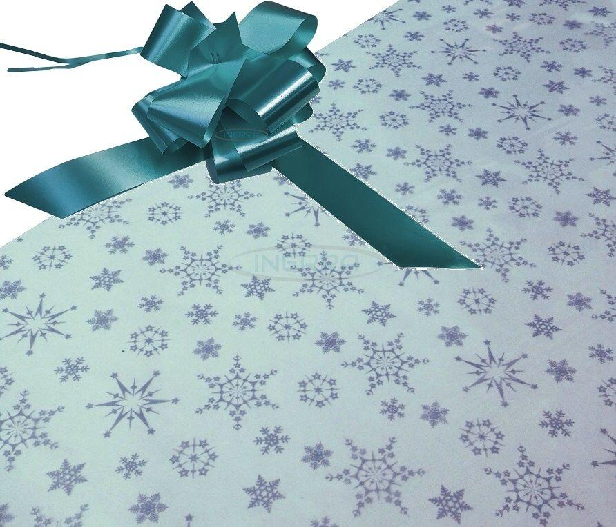 turquoise hamper wrapping kit cellophane bow christmas