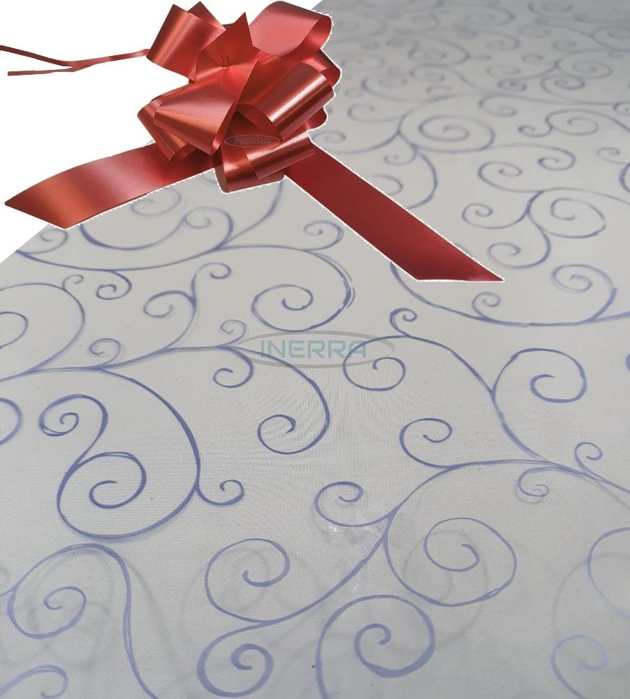 burgundy hamper wrapping kit cellophane wrap bow