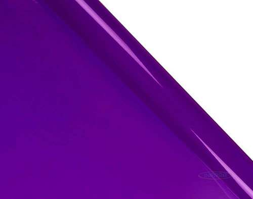 purple cellophane