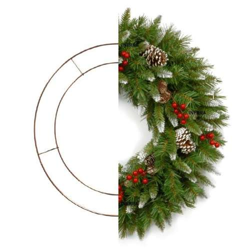 10 inch wire rings wreath making