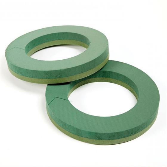 christmas wreath making supplies oasis foam frame wreath ring christmas funeral wreaths