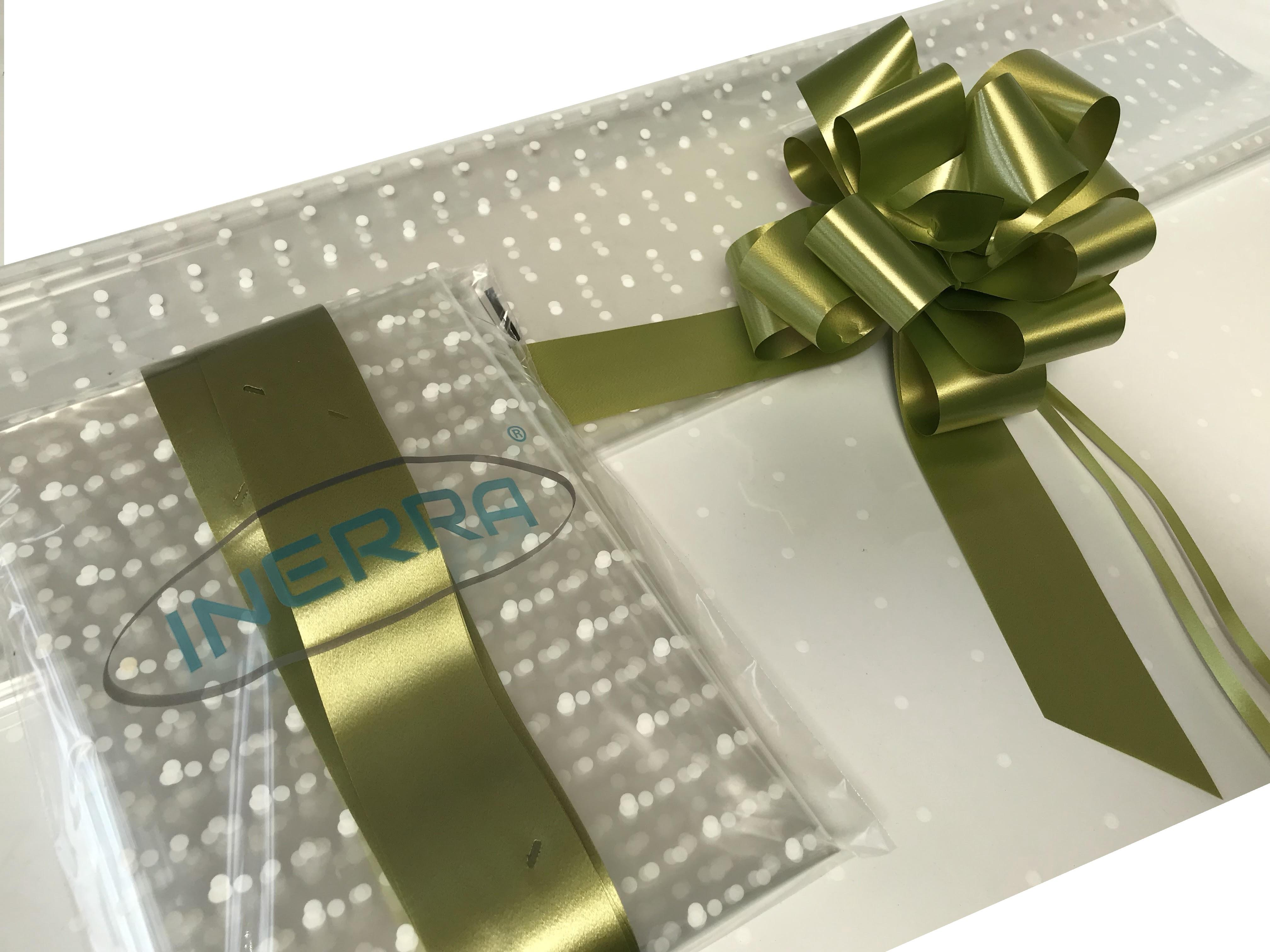 olive hamper wrapping kit gift basket christmas cellophane wrap and bow