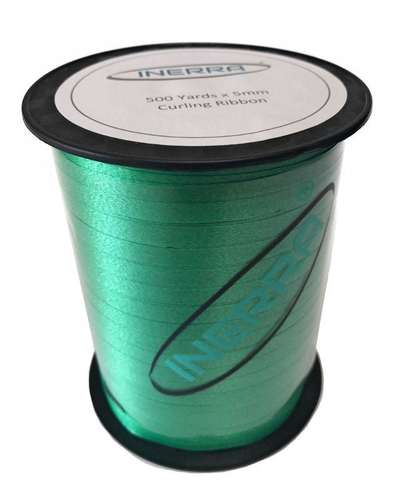 emerald  green balloon string curling ribbon