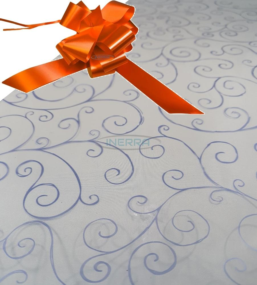 orange hamper wrapping kit cellophane wrap bow