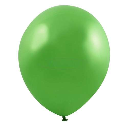 lime green birthday party balloon wedding arch