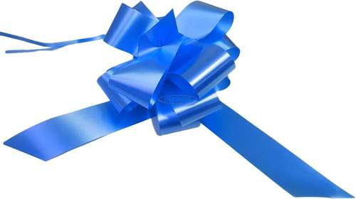 mid blue wedding bows gift hamper