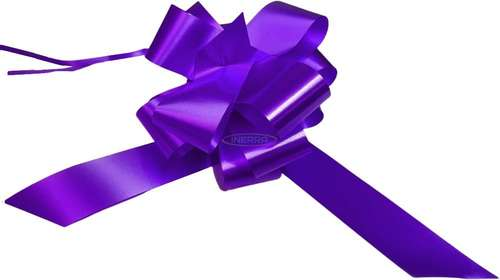purple  wedding bows gift hamper