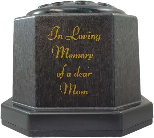 mom flower grave vase holder