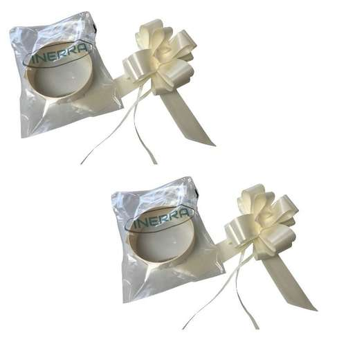 wedding car decoration ribbon bow kit ready made