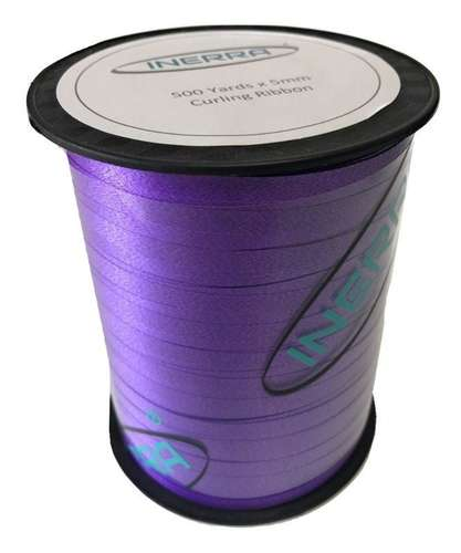 purple balloon string curling ribbon
