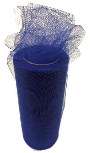 royal blue tulle fabric netting roll