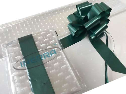 hunter Green hamper wrapping kit