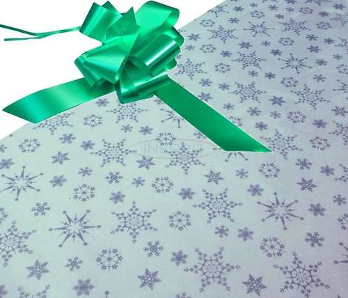 emerald hamper wrapping kit cellophane bow christmas