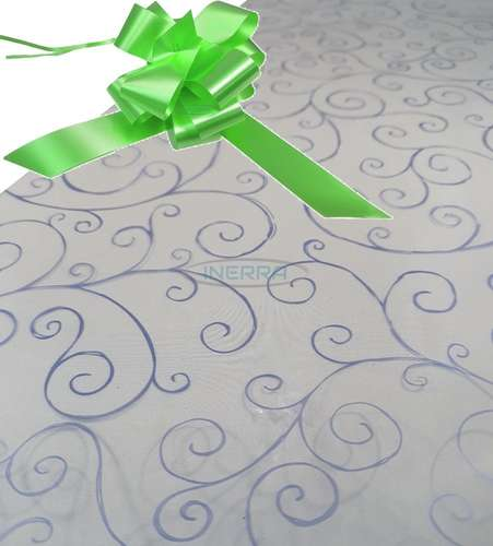 lime green hamper wrapping kit cellophane wrap bow