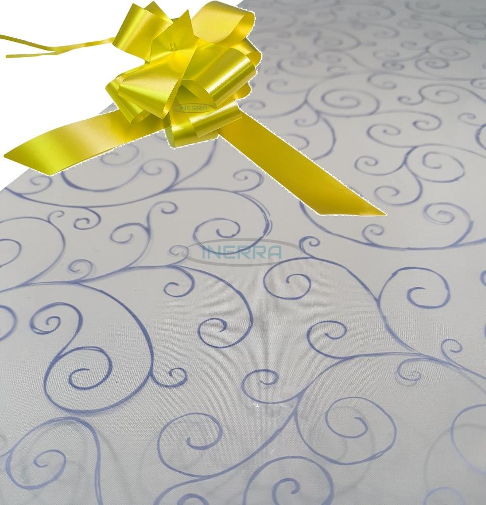 yellow hamper wrapping kit cellophane wrap bow