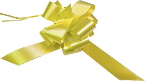 lemon pull bows wedding