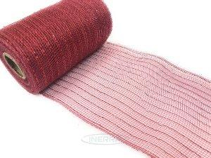 red deco mesh flexible netting for christmas wreath making decorations, deco mesh, decomesh, poly mesh, wreath mesh, decomesh