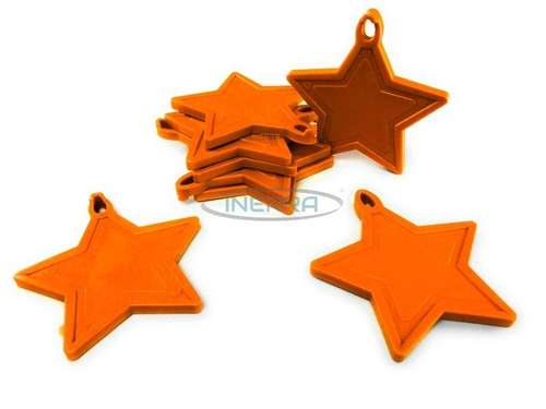 orange star balloon weights