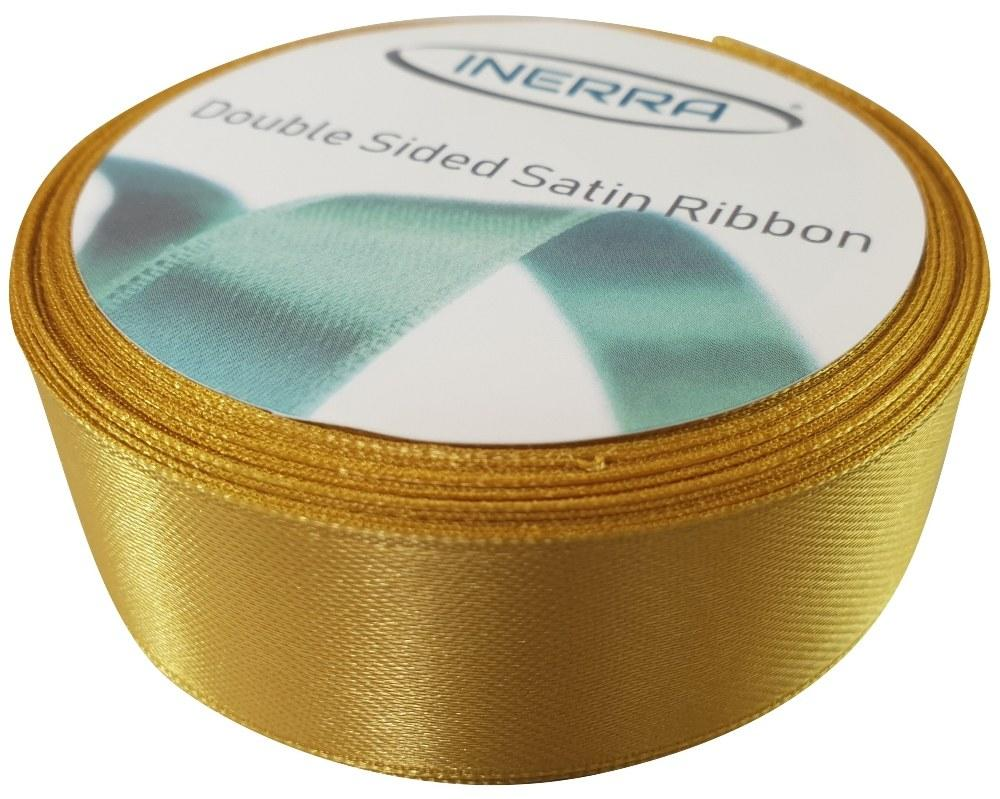 bright gold 25mm double sided ribbon