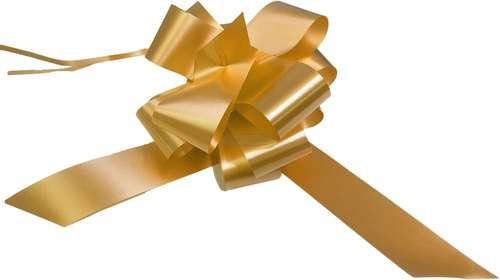 gold wedding bows gift hamper