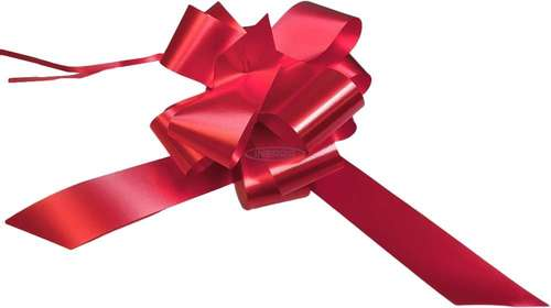 red wedding bows gift hamper