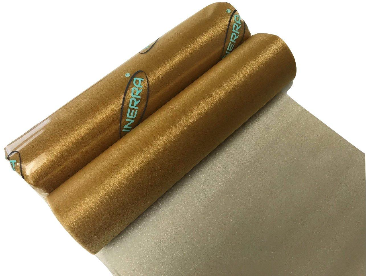 gold organza fabric roll sheer wedding chair dressing sash bow